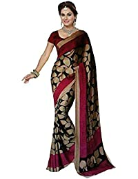 Sarees New Collection Latest Sarees Multicolour Art Silk Saree With Blouse Piece (Saree Centre Sarees For Women...