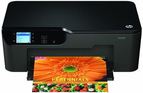 HP DeskJet 3520 e-All-in-One Tintenstrahl Multifunktionsdrucker (Drucker, Scanner, Kopierer, Wlan, USB, 4800x1200) (3520 Hp Deskjet Drucker)