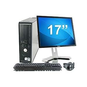 "Lot PC DELL Optiplex 755 SFF Intel Celeron 430 1.8Ghz 2Go 80Go XP + Ecran 17"""