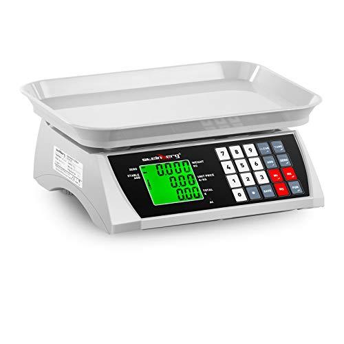 Balanza de control SBS-PW-301CA de Steinberg La balanza SBS-PW-301CA proporciona resultados de medición exactos, tiene una capacidad de pesaje máxima de 30 kg y una precisión de 1 g. Por lo tanto, esta báscula resulta ideal para trabajos en almacenes...