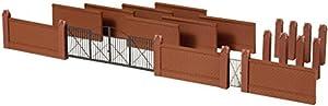 Auhagen 41622 - Valla con Puertas, Modelo Accesorios de Tren