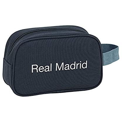 Safta- Neceser Real Madrid, Color Azul, 22 cm (811834234)