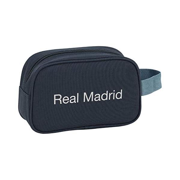 Safta Real Madrid 2 Neceser 22 cm, Azul