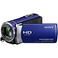 Sony HDR-CX200EL Full-HD Camcorder (6,7 cm (2,7 Zoll) Touchscreen, 5 Megapixel, 25x opt. Zoom, HDMI) iAUTO