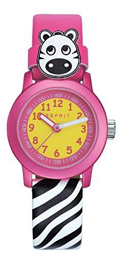 Esprit Mädchen Armbanduhr Datum klassisch Quarz Leder ES106414031