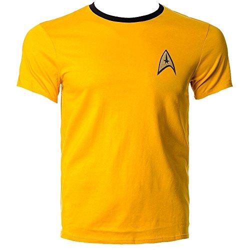 Shirt (Gelb) - Small (Star Trek-kleidung)