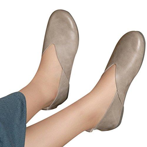 Vogstyle Donna Scarpe Comfort Pompe Basse Stile-1 Albicocca