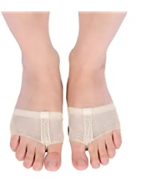 The Dance Bible Professional Belly Ballet Toe Pad Foot Thong | Toe Pads For Dance Paws | Toe Undies For Dance...