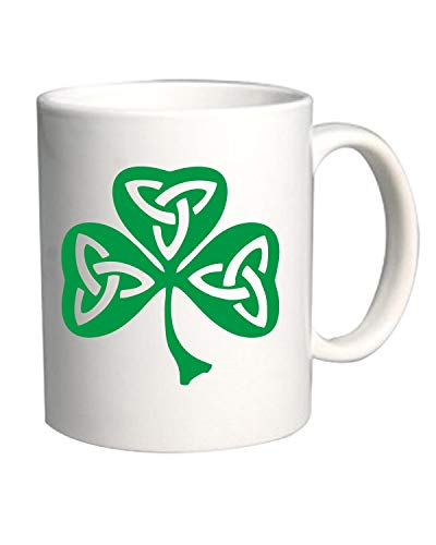 Speed Shirt Tazza 11oz BIANCA TIR0019 Celtic Shamrock