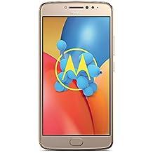 """Moto E4 Plus - Smartphone libre Android 7 (pantalla HD de 5.5"""", 4G, cámara de 13 MP, 3 GB, 16 GB, MediaTek MT6737 de cuatro núcleos y 1.3 GHz), color dorado"""