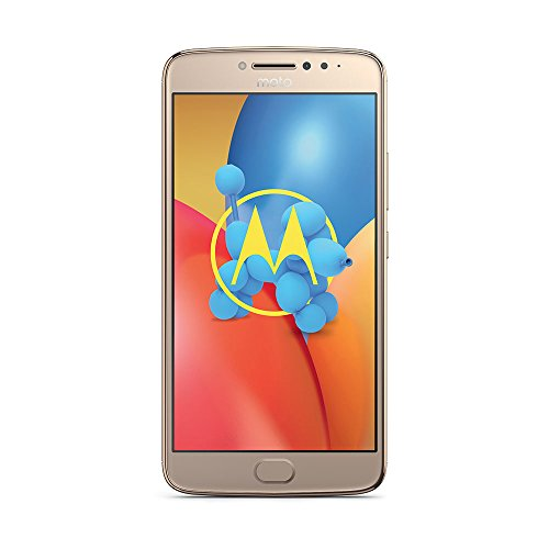 "Moto E4 Plus - Android Nougat 7.0, pantalla HD de 5.5"", 4G, cámara de 13MP, 3GB RAM, 16GB ROM, MediaTek MT6737"