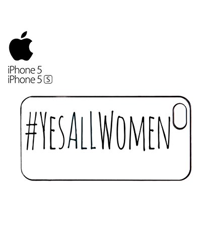 Yes All Women Twitter Tag Funny Mobile Phone Case Cover iPhone 6 Plus + Black Blanc