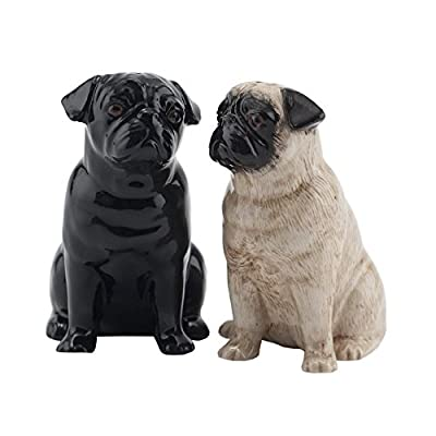 Quail Ceramics - Pug Salt And Pepper Pots by Quail Ceramics