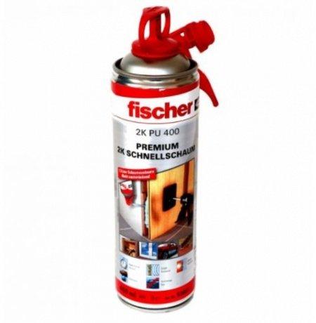 Fischer PU S 400 Premium 2K-Schnellschaum mit Drehaktivierung B2 - 400ml