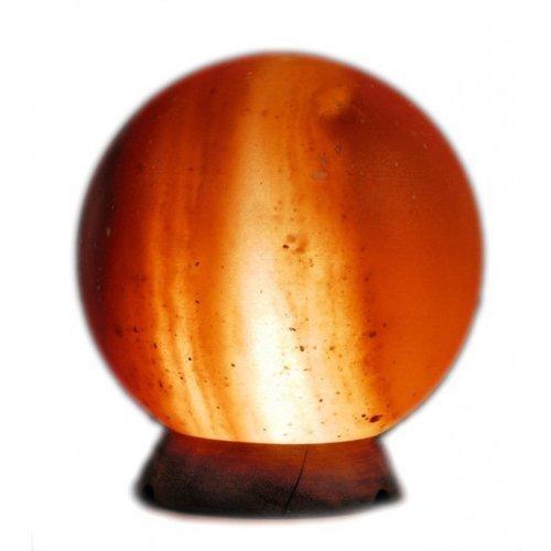Geofossils, lampada a sfera naturale terapeutica di sale himalayano