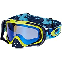 a8db5bf690 Oakley Gafas Mx Crowbar Thermo Camo Azul-Amarillo-Negro (Default, Azul)