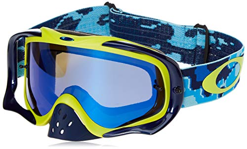 Oakley Masque CROWBAR MX Bleu/Jaune OO7025-56