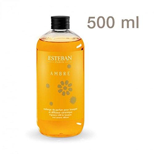 Esteban Paris Nachfüllflasche Raumduft Ambre Amber und Vanille - XXL 500ml