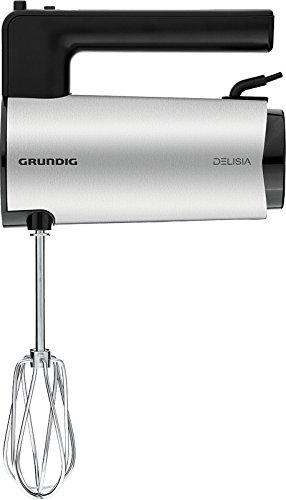 Grundig HM 8680 Hand mixer 700W Black,Stainless steel mixer - mixers (Hand mixer, 1 L, Buttons, Bla