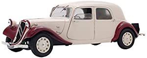 Solido 421184290Citroen Citroën Traction 11CV, 1938, la Modelo de Cast, Auto, Auto en Miniatura, 1: 18