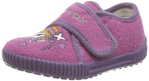 Geox J HOME A, Pantofole con imbottitura leggera Ragazza, colore viola (C8257FUCHSIA/LILAC), taglia 30