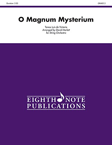 O Magnum Mysterium: Conductor Score & Parts (Eighth Note Publications) -
