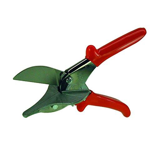 HaWe Gehrungsschere Löwe mit 2 Anschlägen 45°, für Profile bis 40 mm Breite und25 mm Höhe | Länge 220mm