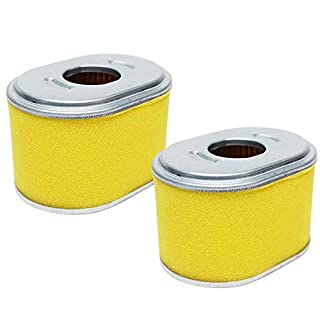 ANBOO Ersatz-Luftfilter für Honda 17210-ze1–82217210-ze1–50517210-ze1–82017210-ze1–517Rasenmäher Filter für Honda GX 140GX 160GX2005,56,5PS Filter Befestigung 2Stück Honda GX140