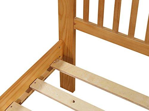 Ideal Furniture Howard Oak Wooden Bed Frame in - Single