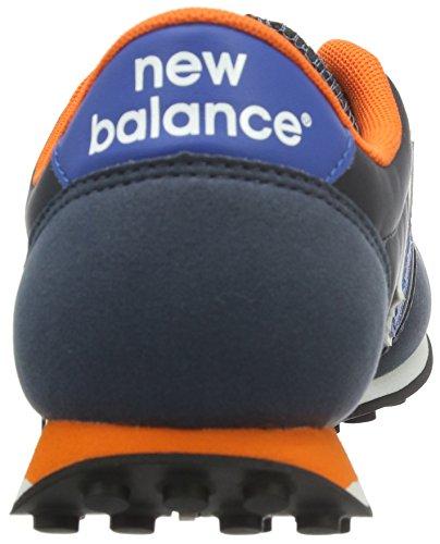 New Balance Unisex-Erwachsene U410v1 Low-Top Blau (Blue/Orange)