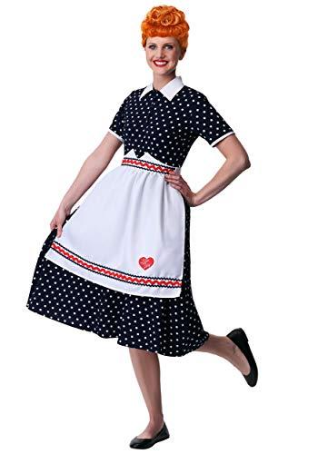 Women's I Love Lucy Lucy Fancy Dress Costume Medium