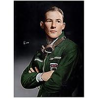 Exclusive Memorabilia Foto von Stirling Moss unterzeichnet