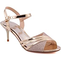 Shoes LondonAmazon co Sandals Women's Unze ukGold SGMqLzVUp