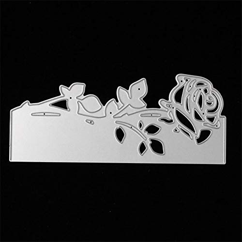 Rose Stanzschablonen Kohlenstoffstahl Schneiden Schablonen DIY Sammelalbum Set Scrapbooking Papier Karten -