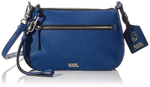 Karl Lagerfeld , Damen Umhängetasche blau blau