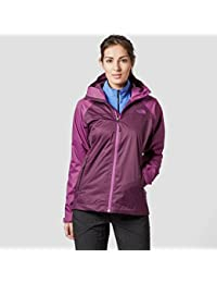 North Face W Sequence Chaqueta, Mujer, Marrón (Blckbrywn / Wdvlt), XL