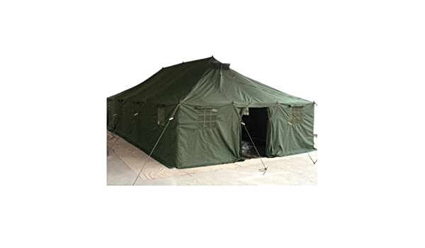 ARMY TENT PE 10X4 8 M OLIVE: Amazon.co