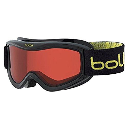 Bollé Kinder Skibrille AMP Monster Vermillon, Black Caribou, OSFJ, 21518 (Amp Snowboard)