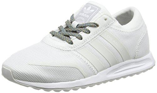 Adidas Unisex-Kinder Los Angeles Sneaker Low Hals, Elfenbein (Ftwr White/Ftwr White/Ftwr White), 40 EU
