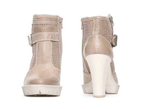 Nero Giardini P717102d Champagne Chaussures D'été Bottines Haute Chaussures Femme Champagne