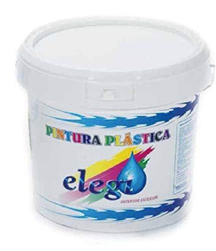 ️ PINTURA PLASTICA BLANCA MATE LAVABLE DE ALTA CALIDAD 4'8 KG. INTERIOR-EXTERIOR ️