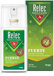 Relec Fuerte, Spray Antimosquitos, Repelente de mosquitos, Eficaz contral el mosquito tigre, Sin olor, sin per