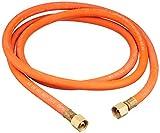 Silverline 633926 - Manguera para gas con conectores (2 m)