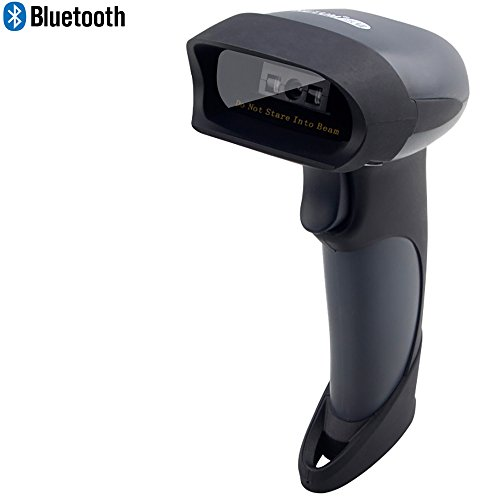 NETUM Wireless Bluetooth Barcode-Scanner Kabellos CCD Bar Code Reader für Android / IOS / Windows XP / 7 / 8 / CE , 32 bit Decoder, Deutsche Tastaturbelegung unterstützt
