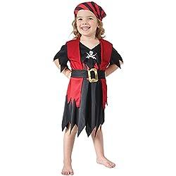 Disfraz de Pirata del Caribe para niña, (3 años)