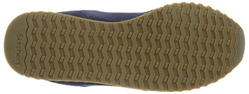 Skechers Og 78Denim Dash, Baskets Basses Femme Bleu - Bleu marine