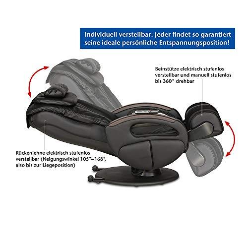 Massagesessel Komfort Deluxe mit Shiatsu-Massage – im Check - 6