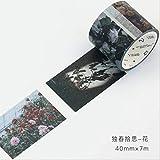 AYYQX Washi Tape Kawaii Travel Life Papier De Masquage Washi Tape Artisanat Et...