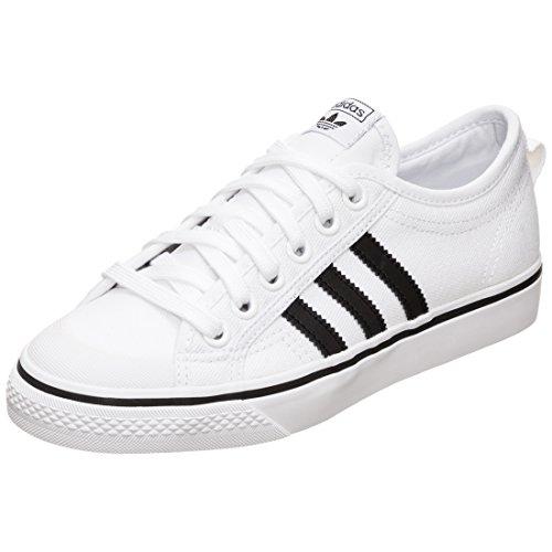adidas Herren Nizza Gymnastikschuhe Weiß Core Black/FTWR White, 36.5 EU