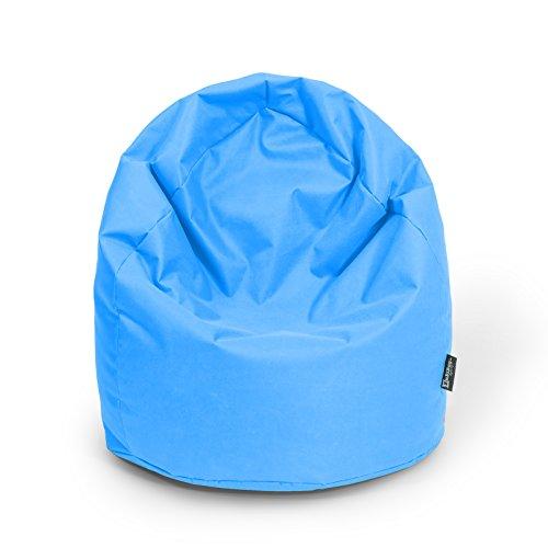 BuBiBag Sitzsack Birne Größe XL Füllmenge ca. 300L Indoor und Outdoor (königsblau)